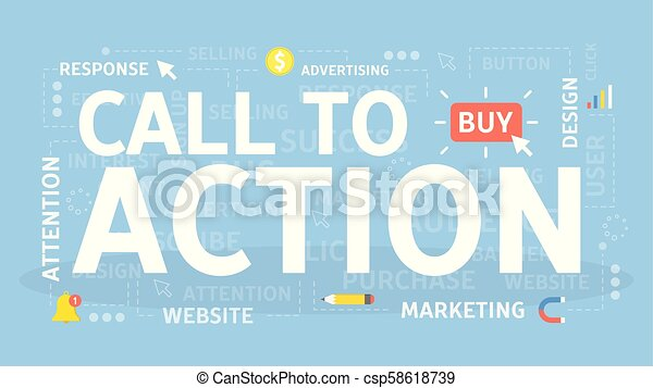 Call to action. - csp58618739