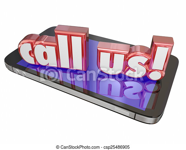 Call Us Contact Customer Service Tech Support Order Now Cell Mob - csp25486905