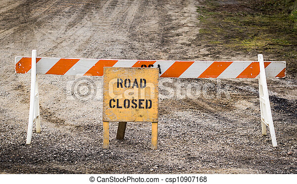 Ruta cerrada - csp10907168