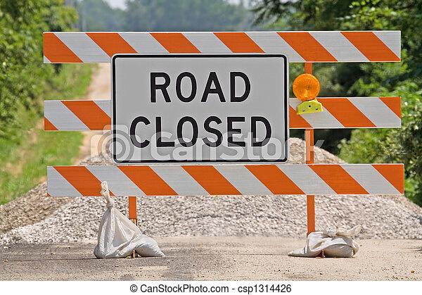 Ruta cerrada - csp1314426