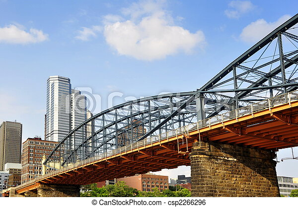 Smithfield Street Bridge Pittsburgh - csp2266296