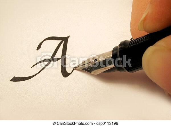 calligraphy 2 - csp0113196