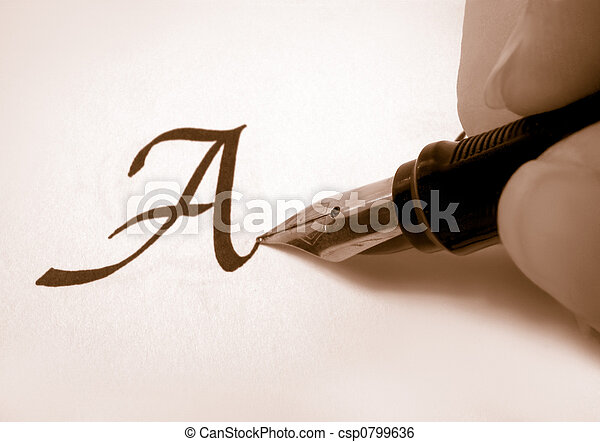 calligraphy 2 - csp0799636