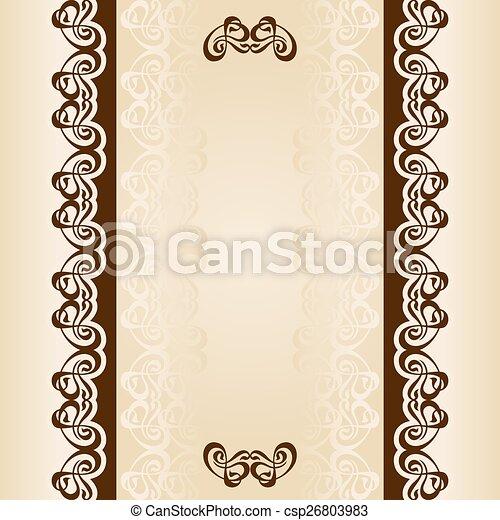calligraphy ornament frame set-04.eps - csp26803983