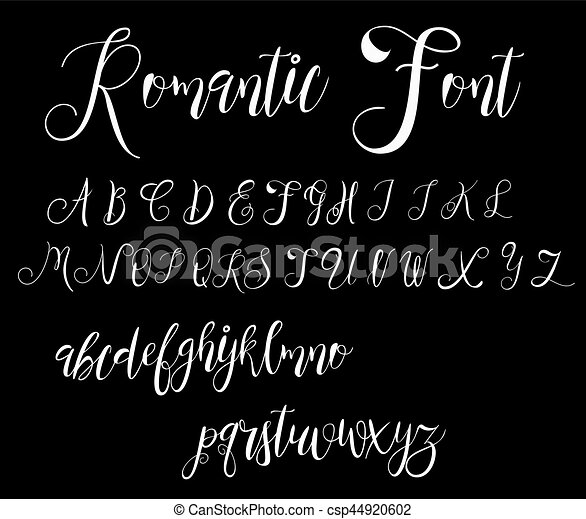 Calligraphy tattoo alphabet english script lowercase vector calligraphy tattoo alphabet english script lowercase uppercase vector thecheapjerseys Image collections