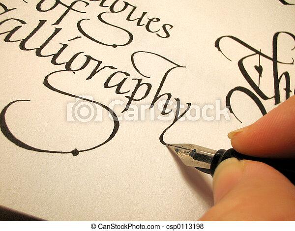 calligraphy3 - csp0113198