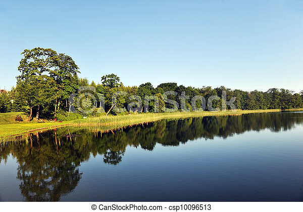 calm water of  lake - csp10096513