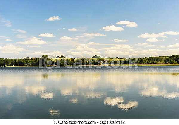calm water of  lake - csp10202412