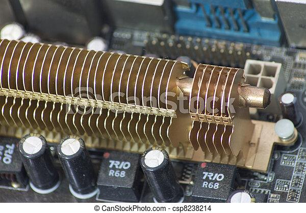 Un fregadero caliente - csp8238214