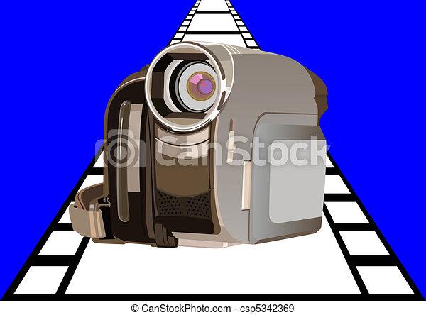 caméscope - csp5342369