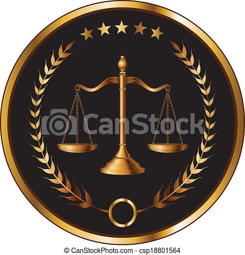 camada, lei, ou, selo - csp18801564
