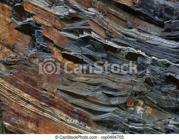 camadas, geológico - csp0494703