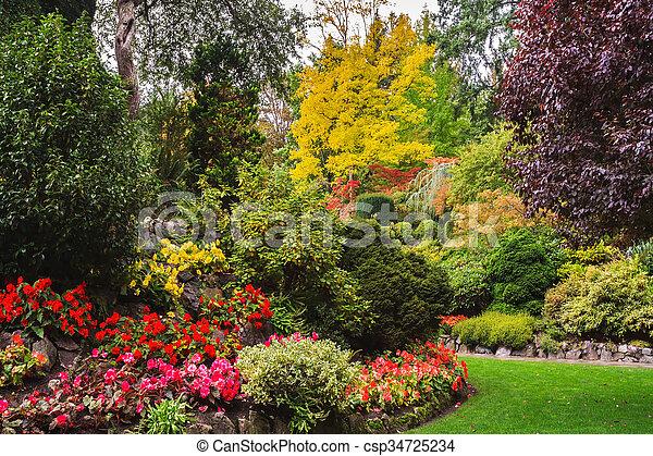 Flores de flores de flores - csp34725234