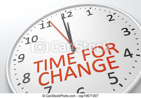 cambiamento, tempo - csp19671307