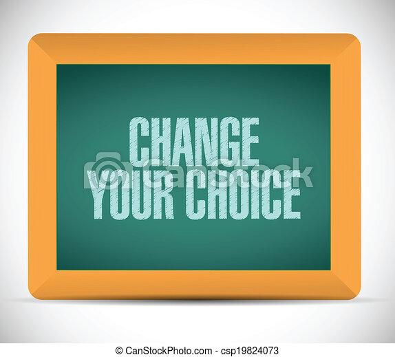 Cambia tu ilustración de mensajes - csp19824073