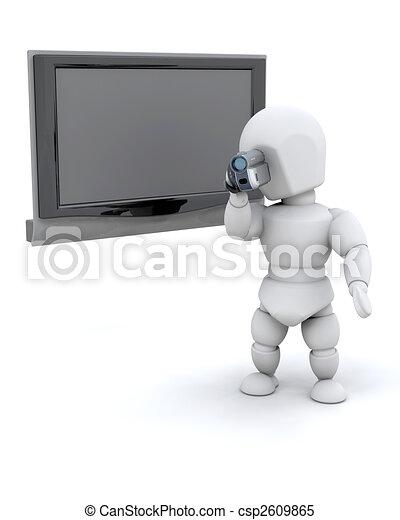 Hombre con cámara - csp2609865