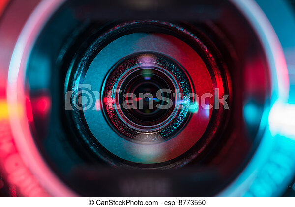 Camcorder lens - csp18773550