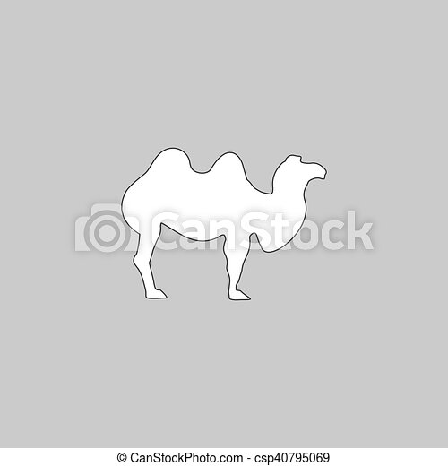camel computer symbol - csp40795069