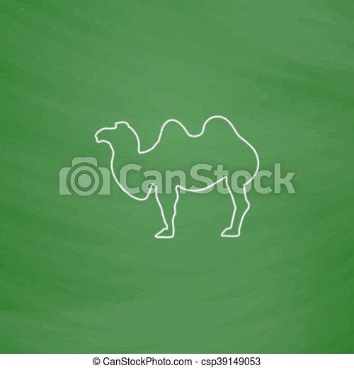 camel computer symbol - csp39149053