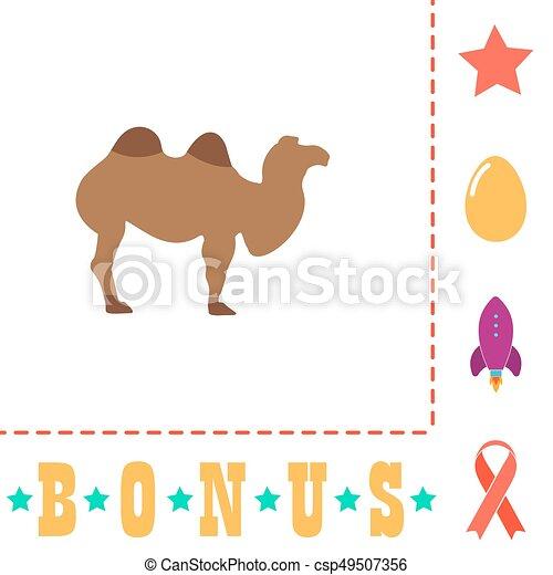 camel computer symbol - csp49507356