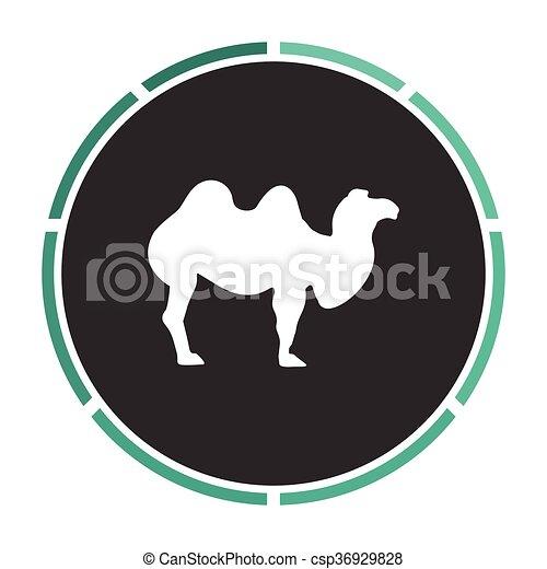 camel computer symbol - csp36929828