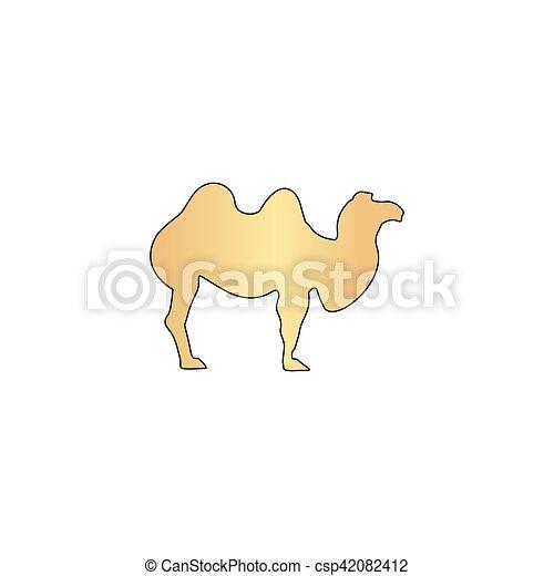 camel computer symbol - csp42082412