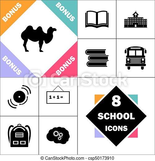camel computer symbol - csp50173910
