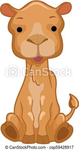 Camel Illustration - csp59428917