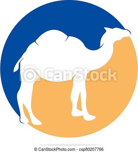 Camel logo design. - csp80207766