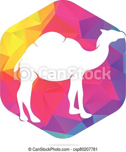Camel logo design. - csp80207781