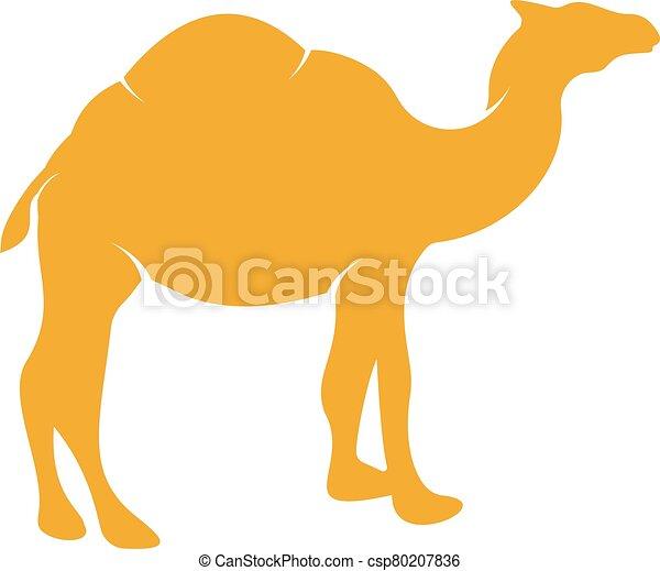 Camel logo design. - csp80207836