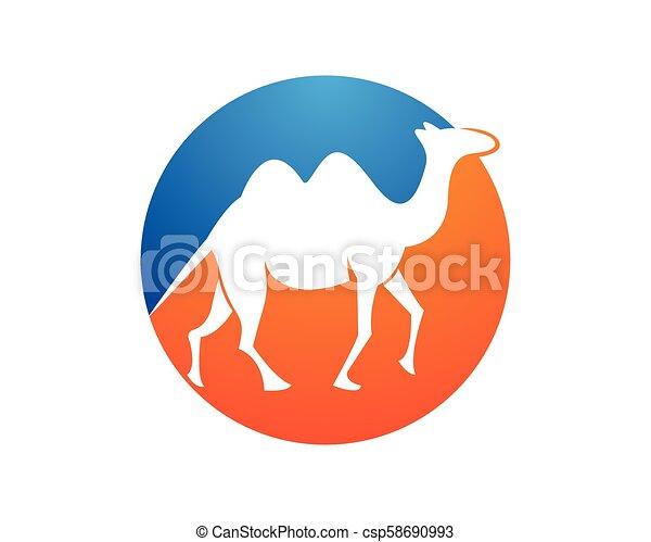 Camel logo template - csp58690993