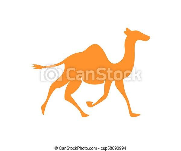 Camel logo template - csp58690994