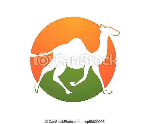 Camel logo template - csp58690995