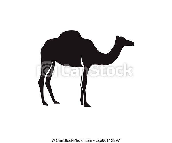 Camel logo template vector - csp60112397