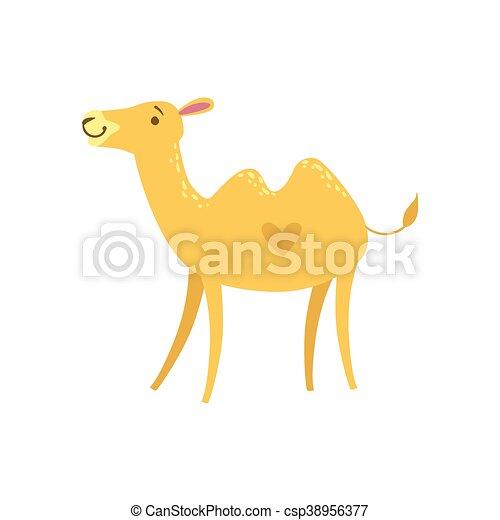 Camel Stylized Childish Drawing - csp38956377