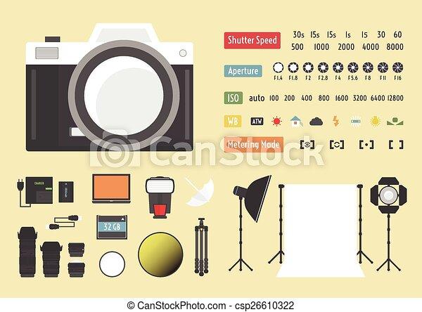 camera accessories - csp26610322