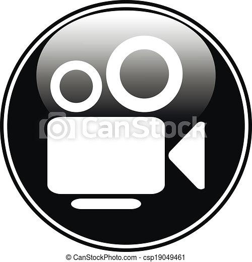 Camera button - csp19049461