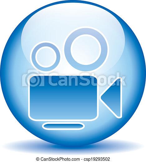 Camera button - csp19293502
