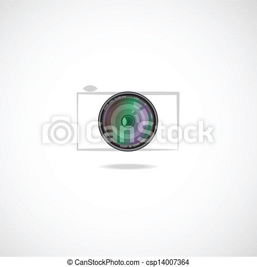 camera icon - csp14007364