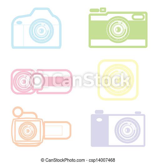camera icon - csp14007468
