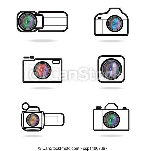 camera icon - csp14007397