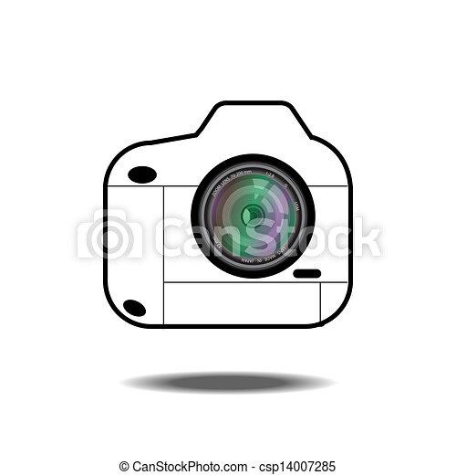camera icon - csp14007285