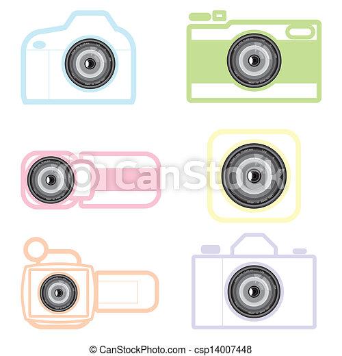 camera icon - csp14007448