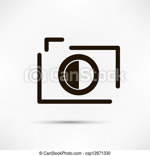 Camera Icon - csp12871330