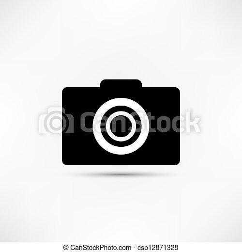 Camera Icon - csp12871328
