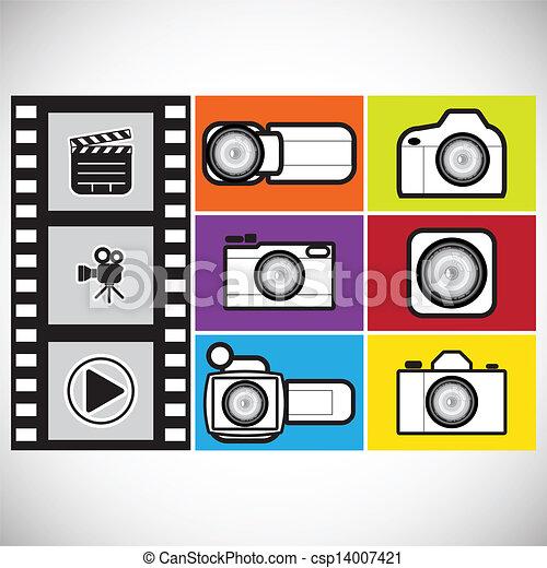 camera icon - csp14007421