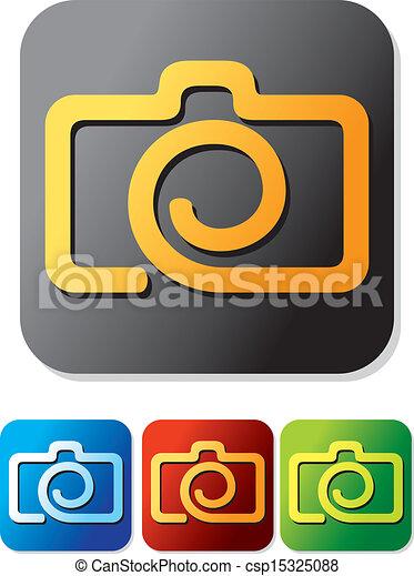 camera icon set - csp15325088