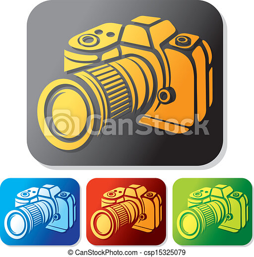 camera icon set  - csp15325079