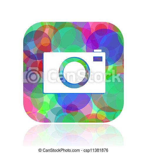 camera icon - csp11381876